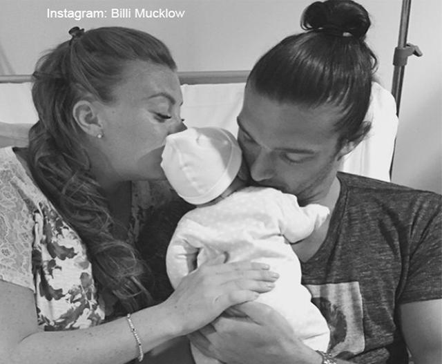 Billi Mucklow's Baby Joy