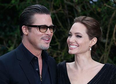 Image of Brad and Angelina