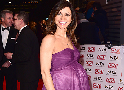 julia bradbury expecting twins