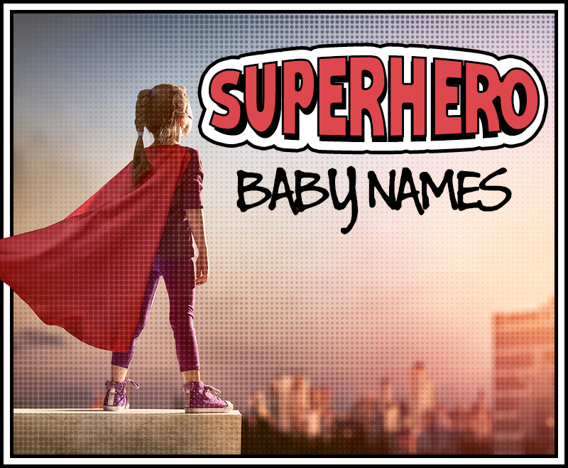 superhero baby names