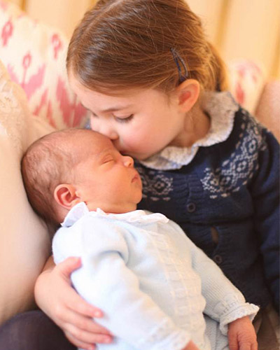 First photos of Prince Louis