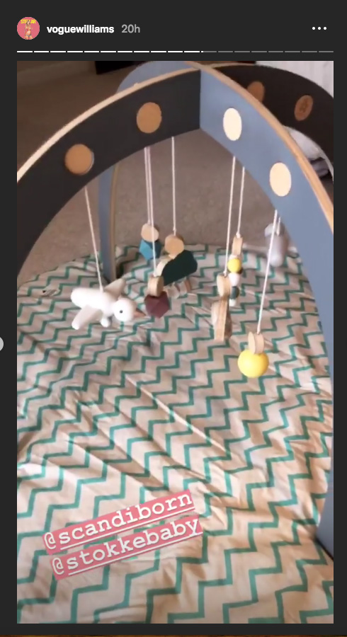 Vogue shares a sneaky peek inside her nursery