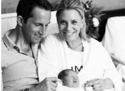 Ben Ainslie becomes a father