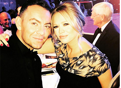 Kimberley Walsh wows on the red carpet