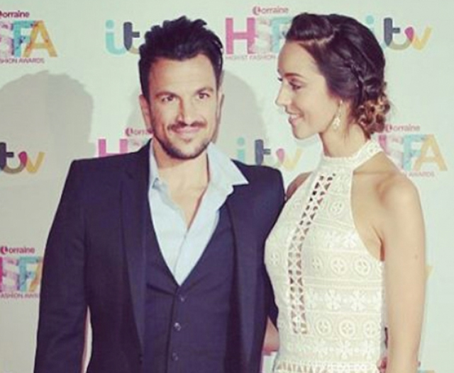Find out what Peter Andre has named his baby