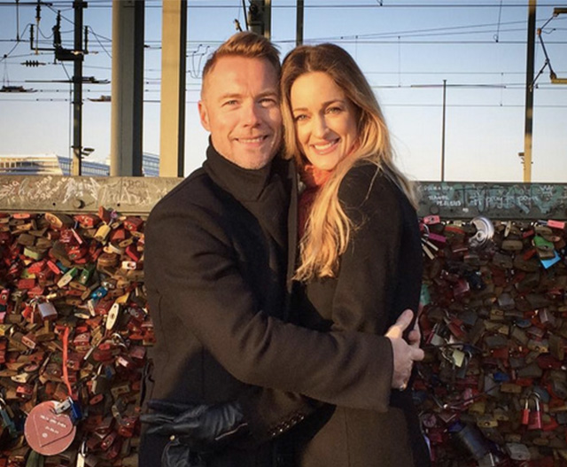 Ronan Keating to be a daddy