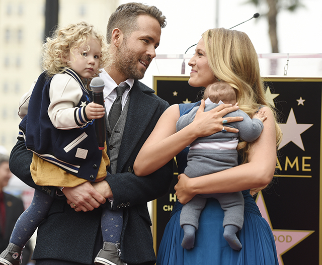Ryan Reynolds and Blake Lively reveal baby's name