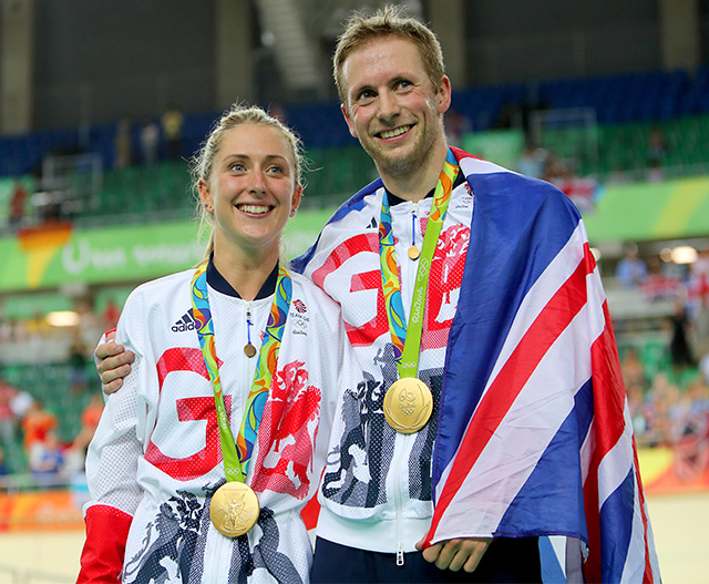 Olympic cycling champions announce baby news