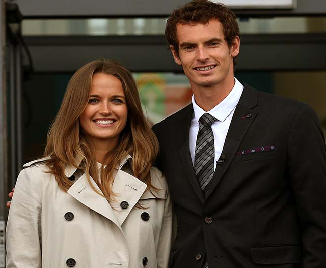 Andy Murray is a daddy