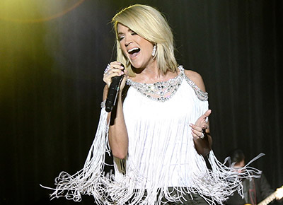 Carrie Underwood has some happy news