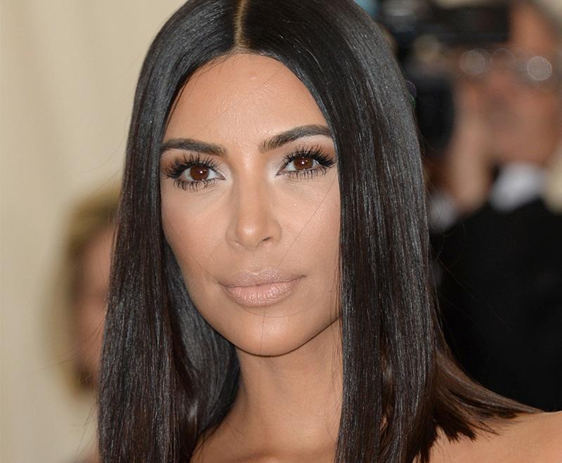 Kim announces daughter's name