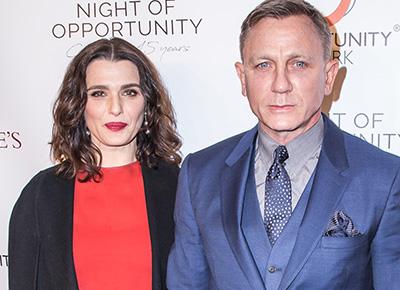 Daniel Craig and Rachel Weisz welcome first child