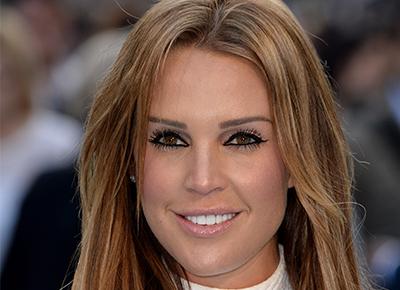 Danielle Lloyd has live scan on Loose Women