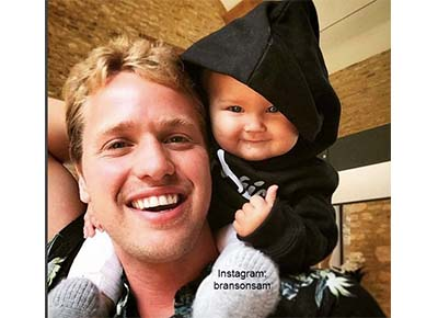 Baby Branson Visits The Rugby