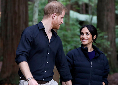Prince Harry takes beautiful picture of pregnant Meghan