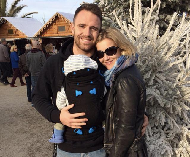 Helen Skelton enjoys walks with Ernie