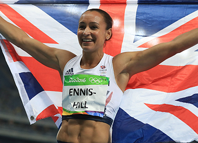 Jessica Ennis Hill announces baby name