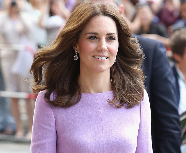 Kate announces due date