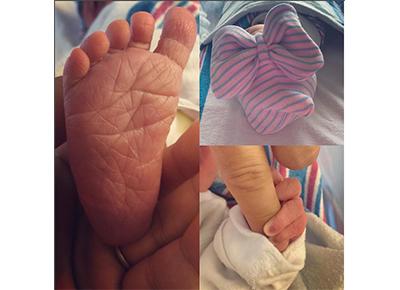 Katherine Jenkins welcomes her baby