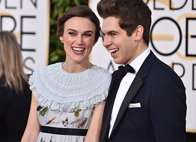 Keira Knightley reveals her daughter's name
