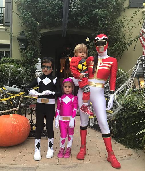 Celebrity Halloween kids