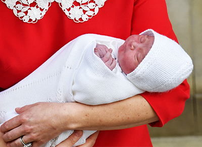 What is the baby Prince called?