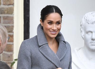 Duchess Meghan visits care home