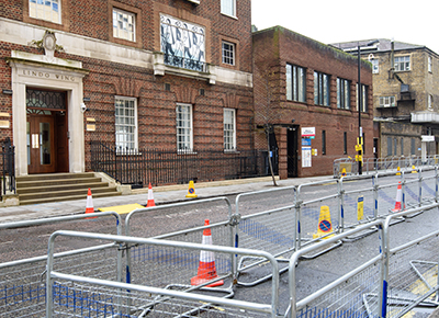 Lindo Wing gets ready for the Royal baby