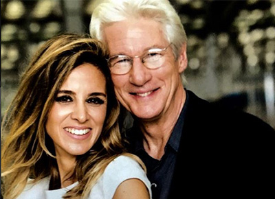 Richard Gere to be a dad again say reports