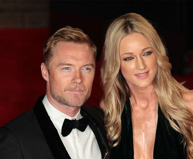 Ronan and Storm Keating welcome their baby