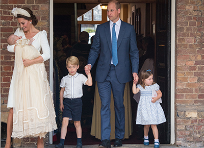 All the Royal children together