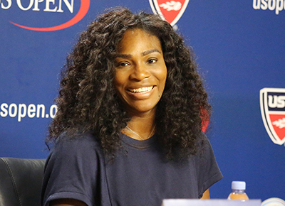 Serena shares first picture of her baby