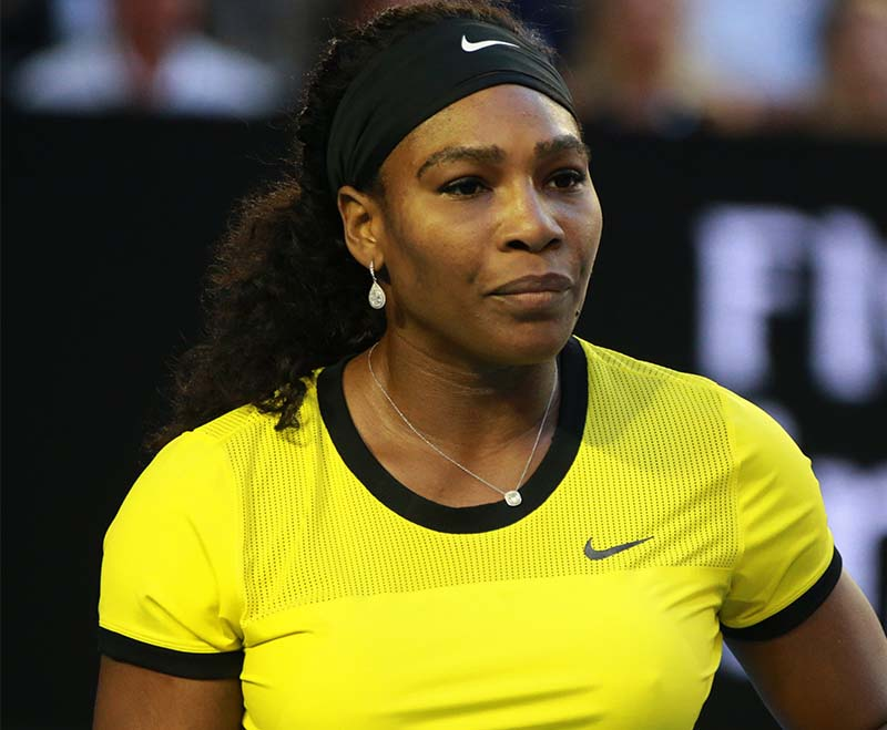 Serena opens up about birth