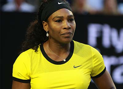 Tennis star's labour didn't go according to plan