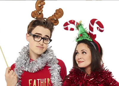 Tom and Giovanna takes the kids to see Santa