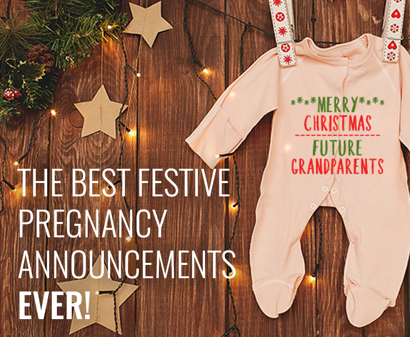 Best Christmas baby announcements
