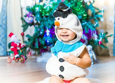 cute baby Christmas clothing