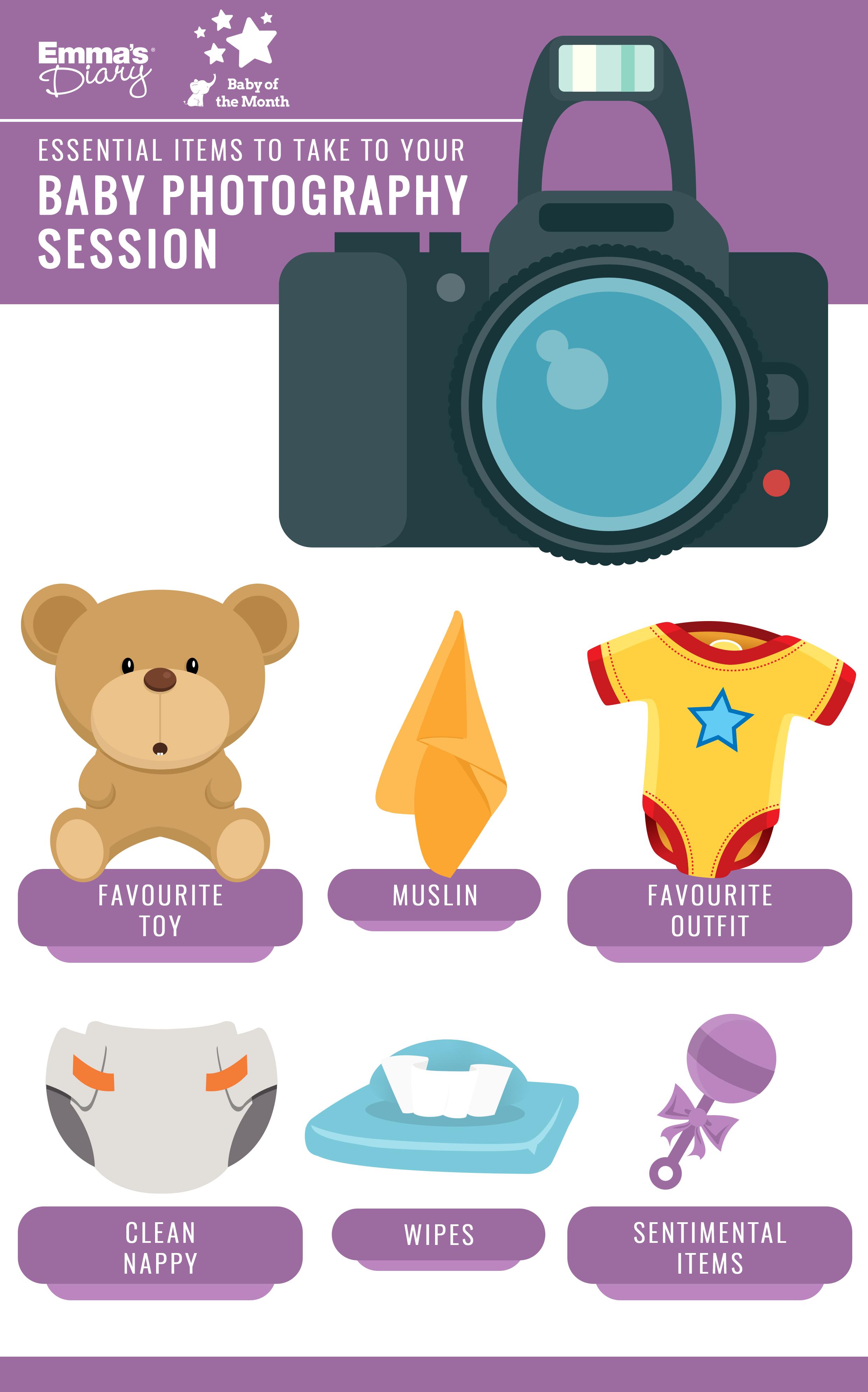ED Useful Items during Photoshoot