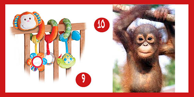 Ten of the best monkey baby gifts for Chinese New Year