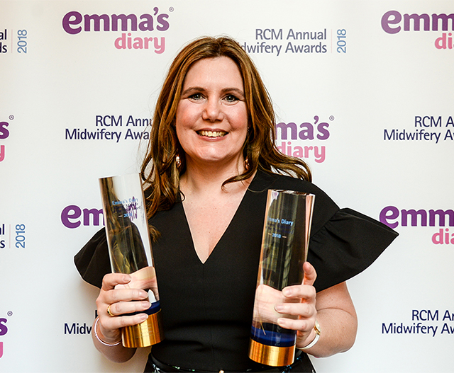Midwife of the Year 2018 mobile