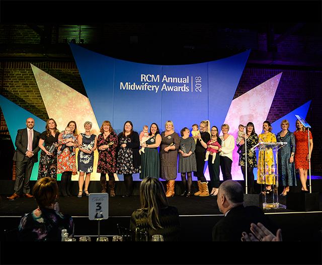 2018 Regional Winners Mum's Midwife of the Year