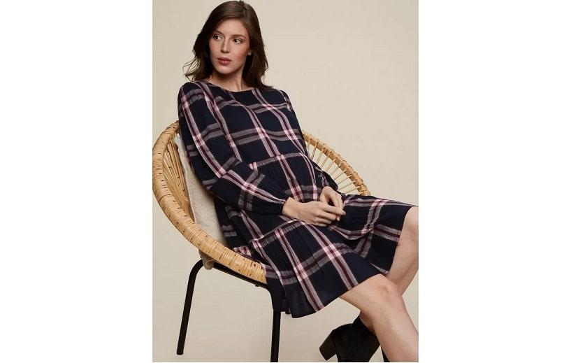 Maternity smock dress