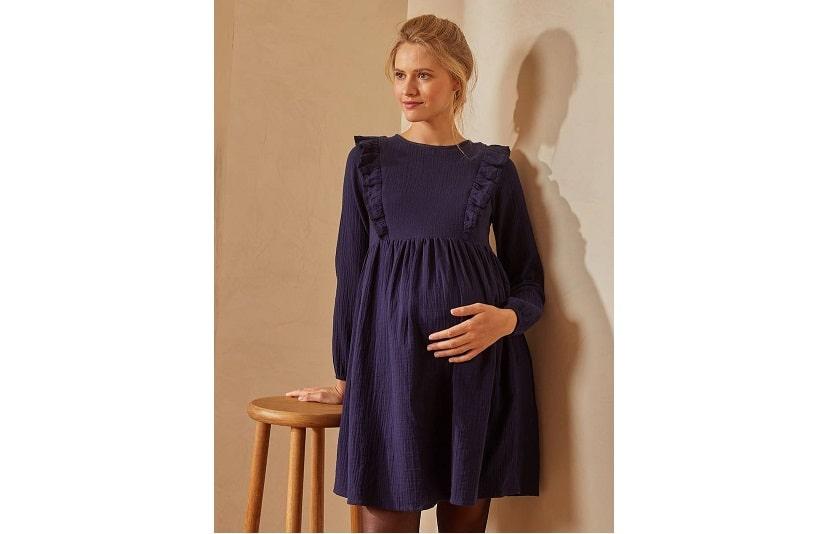 Maternity cotton dress