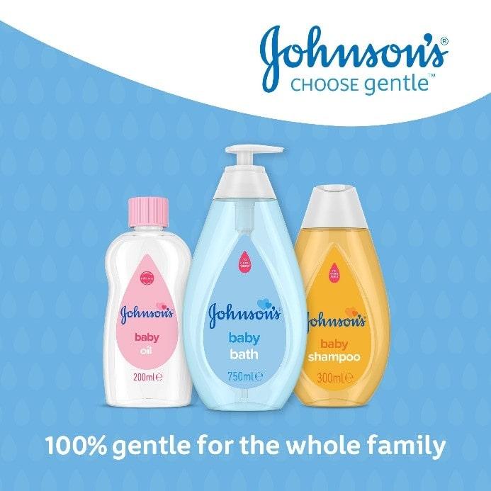 JOHNSON'S® BABY SKIN & HAIR RANGE