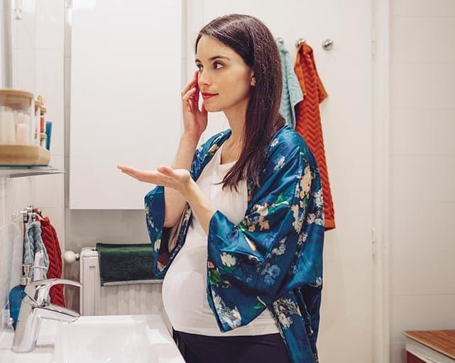 make up tips in pregnancy