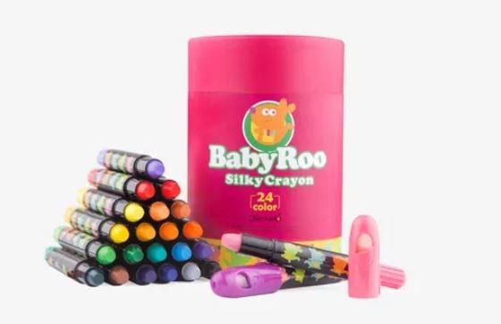 Jar Melo Silky Washable Crayons