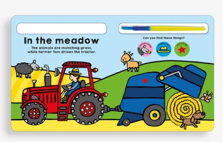 Colour Me Farm Book