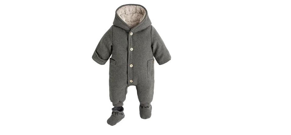 Hooded Pram suit