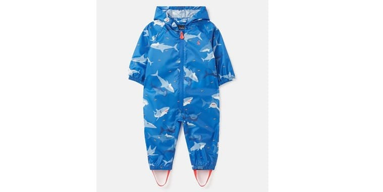 Waterproof puddle suit