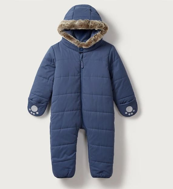 Quilted Pram Suit for baby